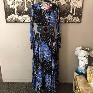 NWT Free People Maxi Prairie Dress